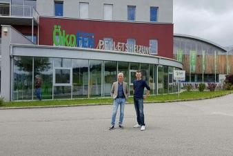 Bezoek aan Ökofen pelletketel fabrikant