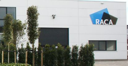 Bedrijfspand RACA in Hillegom duurzaam verwarmd door middel van Ökofen pelletketel
