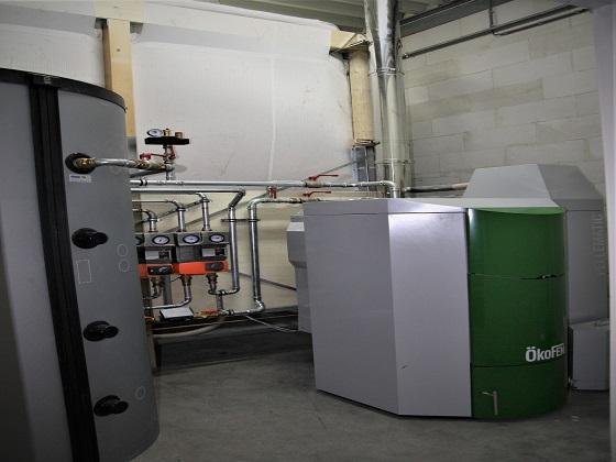 Duurzame verwarming bedrijfspand